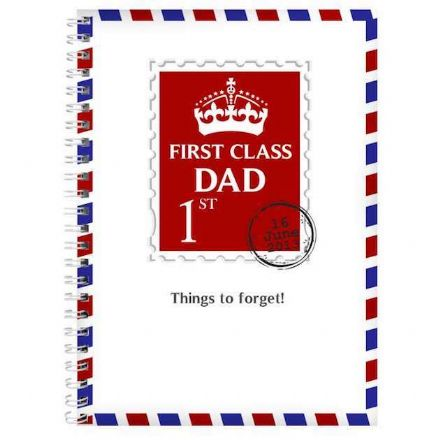 Personalised A5 Notebook - 1st Class